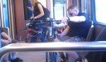 People, bikes, public transit... I'm in love