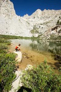 Mirror Lake, 10,500+ feet. Lots of fish.